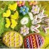 Wielkanocne ciasteczka – cytrynowe, kruche