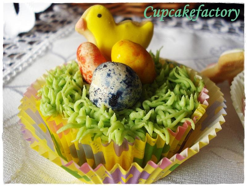 Wielkanocne jogurtowo-cytrynowe cupcakes