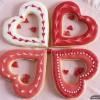 Ciasteczka na Walentynki – serduszka z dziurką