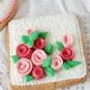 Ciastka na Dzień Mamy – róże 3D