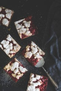 kruche ciasto z truskawkami-